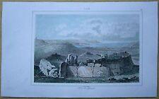 1848 print MALTA: TOWER OF GIANTS, ISLAND OF GOZO (#34)