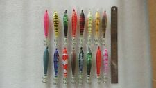 20pcs luminous fishing lure ,squid jigs.10cm, random colour mixed .