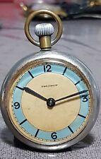 orologio da tasca ferrovie Precision uomo vintage Carica manuale buono stato