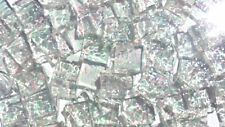 "100 1/2"" Clear Iridescent Granite Stained Glass Mosaic Tiles"