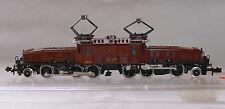 """Trix Minitrix 12956 Elektro-Lok Ce 6/8 III """"Krokodil"""" SBB rotbraun OVP"""