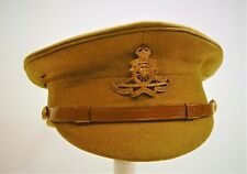 New ListingBritish Ww1 Pattern 1905 Other Ranks Sd Stiff Cap for The Royal Artillery Superb