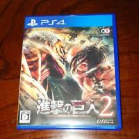 Attack on Titan 2 AOT 2 Sony PlayStation 4 2018 PS4 - Japanese Version
