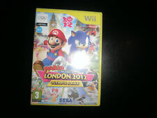 nintendo wii - mario & sonic london 2012 olympic games - 100% complete