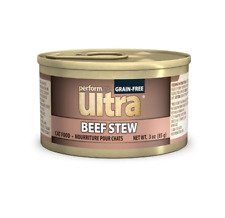 Performatrin Ultra Grain-Free Beef Stew Wet Natural Food for Cat's 3 oz - 24 pk