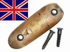 Enfield No1 SMLE Brass Butt Plate w/Screws