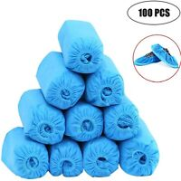 100 Pcs (50 pairs) Shoe Covers - Disposable, Anti Skid, Non Woven Fabric.
