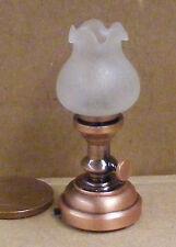 1:12 échelle de travail batterie led lampe de table maison de poupées miniature lumière SB1008W