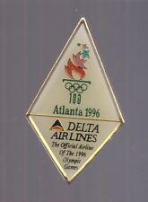 1996 Delta Airlines Olympic Pin Atlanta logo