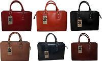 borsa borse da donna cartella lavoro tracolla e manici pelle made in italy 9047