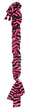 PINK ZEBRA PRINT TOUGH 1 LYCRA BRAID IN TAIL BAG NEW HORSE TACK EQUINE