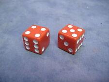 RED DICE VALVE CAPS LOW RIDER BIKE BEACH CRUISER