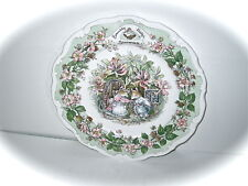 Royal Doulton Plate Brambly Hedge Collection Summer Mint