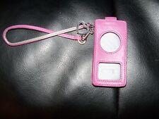 COACH Ipod Nano Pink Gorgeous Case EUC FREE USA SHIPPING