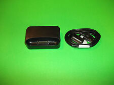 APPLE IPOD IPHONE 3G 3GS BLACK DOCK & DOCK CONNECTOR TO USB CABLE