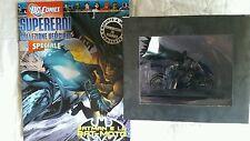 Eaglemoss DC Superhero Collection Special BATMAN  LA BAT-MOTO in piombo BATCYCLE
