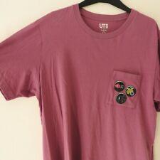UNIQLO Splatoon Graphic T-Shirt - Pink - Large