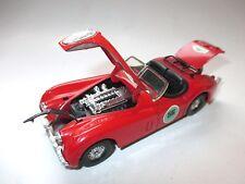 JAGUAR XK 120 Roadster en Rouge Red Rallye transat chaise longue Rome 56, CORGI environ en 1:36!