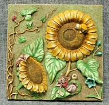 Harmony Kingdom Picturesque Sun Worshipper Byron'S Garden Tile Plaque Pxga1
