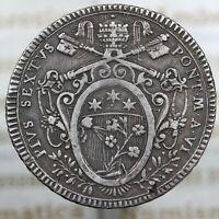 DN - Stato Pontificio - scudo 1780 - Pio VI - A334-2409