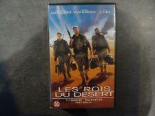 K7 - VHS - LES ROIS DU DESERT - G. CLOONEY - M; WAHLBERG - 1999 - Français - PAL