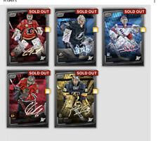 TOPPS NHL SKATE 19/20 Clash Tilt Sig/Relic Lot Of 5 Goalies - DIGITAL CARDS