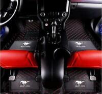 For Ford Mustang 2011-2019 all models luxury custom waterproof Car floor mats
