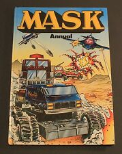 1986 Grandreams MASK / M.A.S.K. Annual Hardcover UK exclusive book GOOD cond.