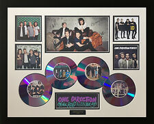 NEW ONE DIRECTION CDS 2015 SIGNED LIMITED EDITION FRAMED MEMORABILIA