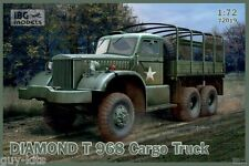 CAMION CARGO  DIAMOND T 968, US. ARMY - KIT IBG Models 1/72 n° 72019