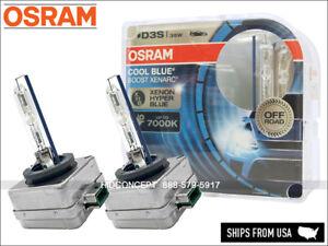 D3S Osram Xenarc Cool Blue Boost 66340CBB HID Xenon Headlight Bulbs (Pack of 2)