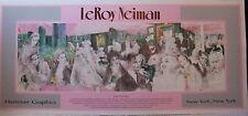 """LeRoy Neiman POLO LOUNGE (17 3/4"""" x 39 1/2"""")"""