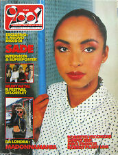 CIAO 2001 45 1985 Sade Madonna Robert Plant Vecchioni Simply Red Mike Francis