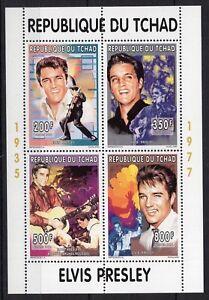 Chad - Elvis Presley - Timbres stamps  Briefmarken - perf.  MNH AM3