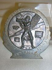 Saint Gabriel Medal Patron of Communications Radio Television TV Telephone 2 3/8