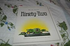 John Deere 9400 9500 9600 Combine For 1992 Dealers Brochure DCPA5 ver2