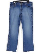 Calvin Klein Womens Jeans Mid-Rise Straight Leg Size 12 Medium Wash