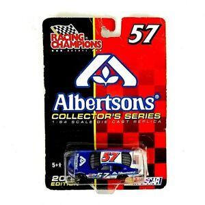 2002 Racing Champions Albertsons 57 NASCAR Collectors Series 2002 Edition B28