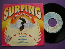 BEACH BOYS  SPAIN PROM0 45 1991 Surfing Golden Hits THE VENTURES JAN & DEAN
