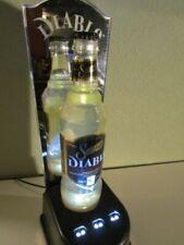 Sauza Diablo Tequila lighted back bar display , Maker giveaway to bars
