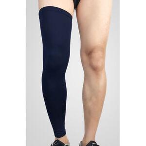 Sport Leg Socks Sleeve Support Knee Pad Breathable Basketball Running Protector