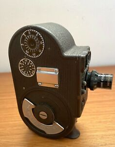 Bell & Howell Sportster 8mm Double Run Eight Filmo Movie Camera Vintage