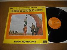 ENNIO MORRICONE  - IL ETAIT UNE FOIS DANS L'OUEST - LP BELGIUM RCA 1-481 - OST