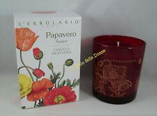 ERBOLARIO Candela profumata PAPAVERO SOAVE durata 40h scented candle