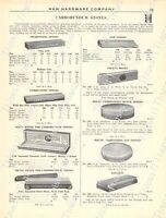 1920s Antique Hardware Ad Carborundum Stones/Files-Oil Stones-Axe/Scythe Stones