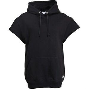 Reebok RBK x Victoria Beckham Sleeveless Hoody Sizes 6, 8, 14 Black RRP £200