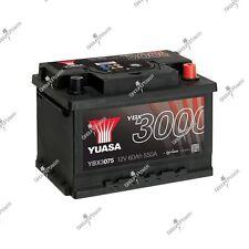 Batterie auto, voiture YBX3075 12V 60Ah 550A Yuasa SMF 243X175X175mm D59 D21