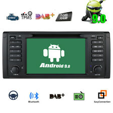 """Android 9.0 CAR DVD GPS Player Navigation 7"""" Touch Screen Radio for BMW X5 E53"""