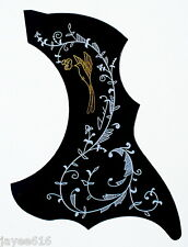 Acoustic Guitar Self-Adhesive Hummingbird Pickguard Scratchplate UK