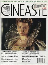 Cineaste: Vol. 24, No. 2/3, 1999 - US Magazine - Rossellini, Irish Cinema